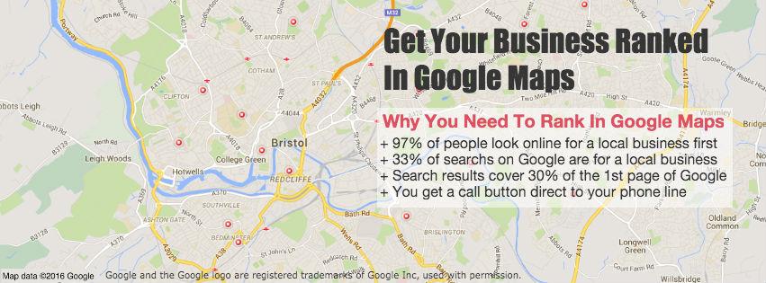 Rank In Google Maps Header